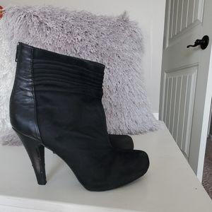 Gianni Bini Black Ankle Boots